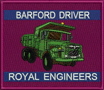 Barford Driver Badge